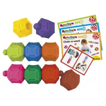 10672 Мягкий конструктор PopboBlocs «Слова», 12+