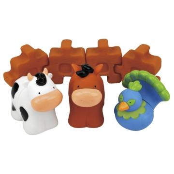 10650 Веселая ферма: индюшка, корова, лошадка, 12+