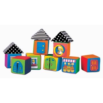 13003 Мягкие кубики в коробке, 9+