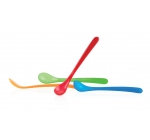 Набор: 4 ложки с длинной ручкой