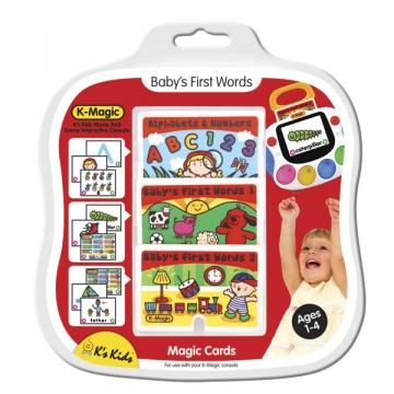 """10565 """"Первые слова"""" - комплект картриджей для K-Magic"""